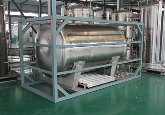 Compact Horizontal Movable Cryogenic Tank