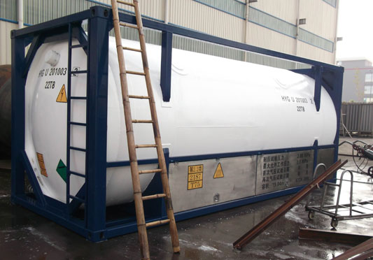 Cryogenic Tank Container Cryogenic Tank Container