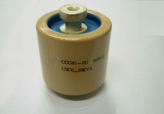 Disc or Plate Power RF-Capacitor CCG81
