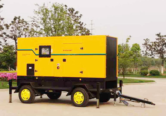 Trailer Type Generating Set