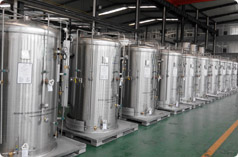 Compact Vertical Cryogenic Tank